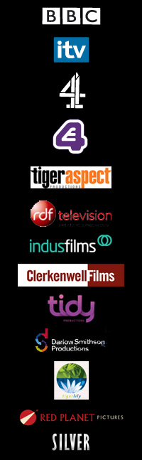 Production Companies we have worked for